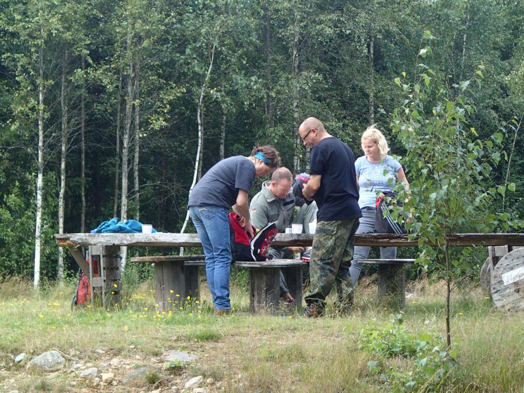 Rast Wandern in Schweden